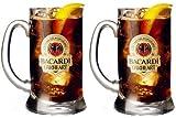Set von 2Bacardi Oakheart Glas/Bierkrug (2Gläser)