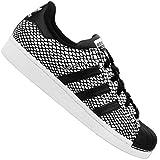 adidas , Herren Laufschuhe Multicolor Negro/Blanco