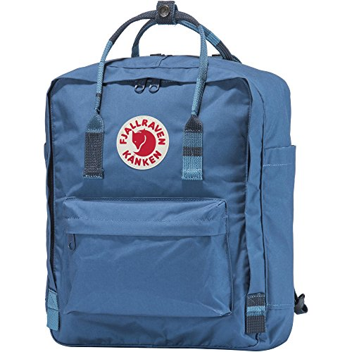 Fjällräven Rucksack Kanken Synthetik 16.0 l (Blue Ridge/Random Blocked) -