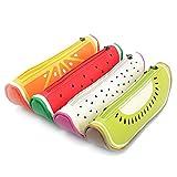 TININNA Fruit Mignon Forme Trousses de Stylos Pen Pouch Maquillage Cosmetic Purse Sac à Crayons Zipper Pouch