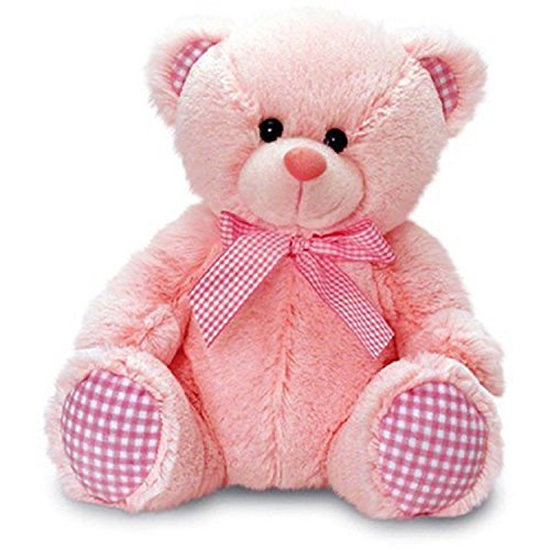 Keel Toys-Nursery percalle Bear Rosa 35cm