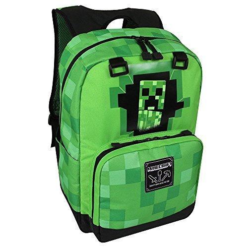 Jinx Minecraft Rucksack für Kinder, 44 cm, Grün Preisvergleich