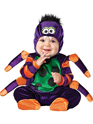 Generique - Spinnen Kostüm für Babys -
