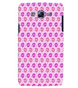 Citydreamz Red Pink Lipstick Design Hard Polycarbonate Designer Back Case Cover For Samsung Galaxy Core 2 G355H
