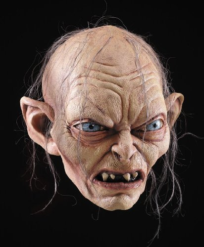 Gollum Smeagol Lord Rings Mask Halloween Mask by...