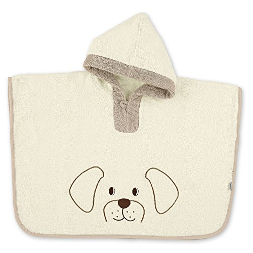 Sterntaler Poncho, Inkl. Kapuze, Hund Hanno, Alter: ab 0 Monaten, Größe: 70 x 50 cm, Beige