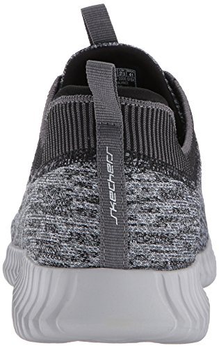 Skechers Herren Elite Flex-Hartnell Laufschuhe Grau (Gray/black)