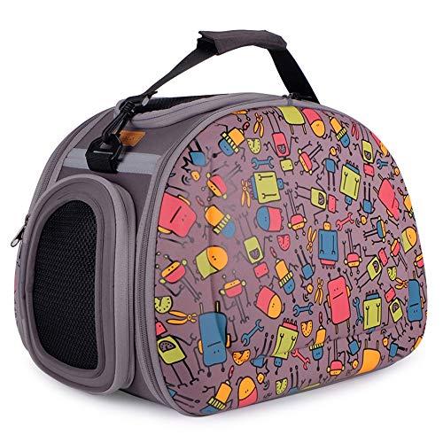 LSX-Haustiertransporter Haustierbeutel falten rucksack handtasche atmungsaktiv schöne luftfahrt haustierbeutel 460X300X320mm oyo -