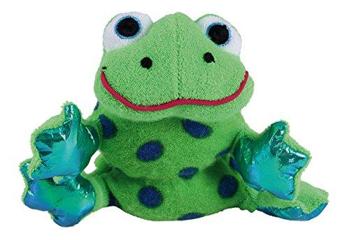 Munchkin Bath Critter Baby Bade Plüschtier Badeschwamm mit Quietscher Frosch