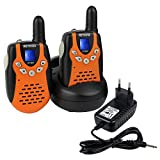Retevis RT-602 Walkie Talkie Ricetrasmittente 8 Canali VOX CTCSS/DCS Ricetrasmettitore per Bambini immagine