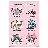 Pusheen Places Cats Belong Maxi Poster