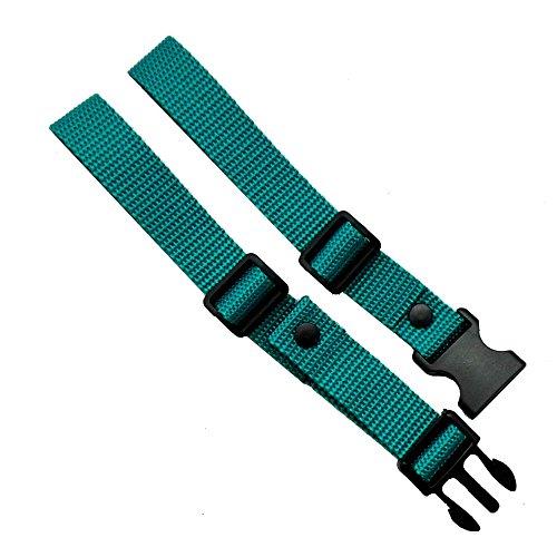 GURTIES® Brustgurt für Schulranzen Schulrucksack Rucksack universal (Petrol)