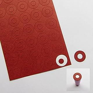 Bluelover 200Pcs Carton 18650 Batterie Isolateurs Isolant Electrique Papier Adhésif