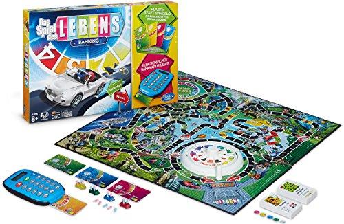 Hasbro Spiele A6769398 - Das Spiel des Lebens Banking, Familienspiel