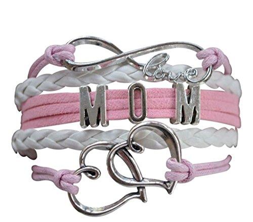MOM Armband, Infinity Armband, der perfekte Geschenk für Stars Rosa rose
