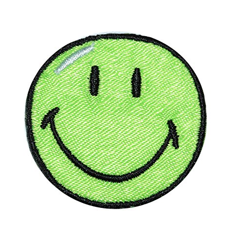 bugelbild-smiley-grun-38-cm-38-cm-aufnaher-gewebter-flicken-applikation-gesichter-smile-emotion-smil