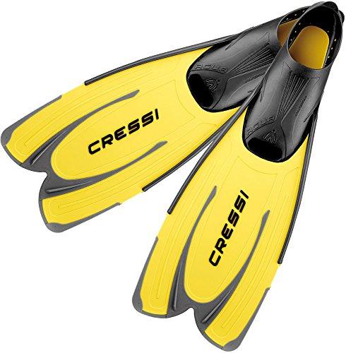 Cressi Flossen Agua, Gelb, 41/42, CA201041
