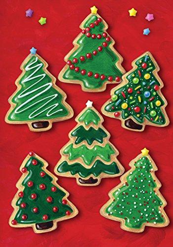 Toland Home Garden Christmas Cookies, 31,8 x 45,7 cm, dekorative Holiday Cookie Dessert Baum Garten Flagge