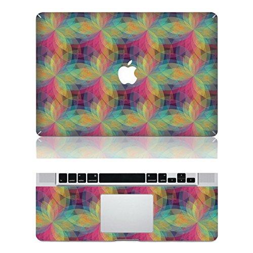 Vati fogli smontabili Individualità protettivo di disegno della copertura completa di arte del vinile Decal Sticker Cover per Apple MacBook Pro Retina da 13,3