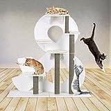 KletterLetter 03471 Katzenkratzbaum '&-Design' | Grosser Kratzbaum Für Katzen | Sisal...