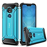 J&D Case Compatible for Moto G7 Power/G7 Supra Case, Heavy