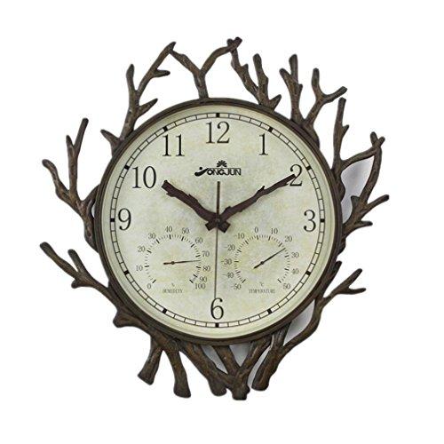 OAGHL Al quarzo metallo parete orologio in