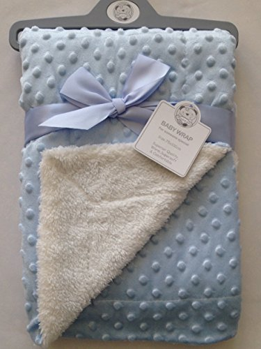 belle-couverture-pour-bebe-bleu-75-x-100-cm-petite-bulle-velours-sherpa-tres-douce