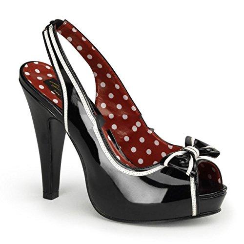 Pinup Couture Bettie-05 - sexy retro scarpe sandali con i tacchi alti e plateau 35-42, US-Damen:EU-38 / US-8 / UK-5