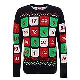 Unisex 3D-Pullover mit Adventkalender-Design