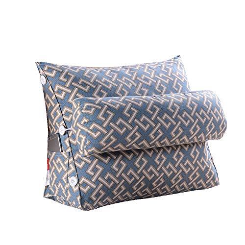 Wedge oreiller dos soutien triangle oreiller dos reste coussin angle réglable canapé lit bureau chaise reste coussin oreiller,D,45x50x22cm