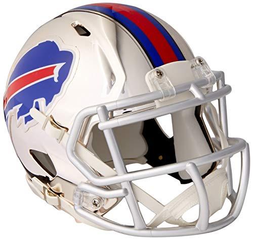 Riddell NFL Buffalo Bills Chrome Speed Mini Footballhelm