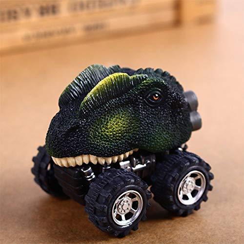 (Zantec Spielzeugauto Kinder kreative Mini Dinosaur Fahrzeug Wind Up Toy Carino Lern Spiel Auto Spielzeug Große Halloween Weihnachten Neujahr Geschenk für Kinder Dilophosaurus)