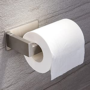 Ruicer Porta Carta igienica Autoadesivo, in Acciaio Inox, per bagni e WC 16 spesavip