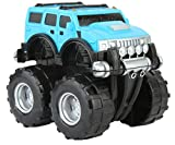 #5: Funny Teddy Unbreakable Hummer Car Toy Set (Small car) | Monster Truck Automobile Monster Truck | Birthday Gift (Blue)