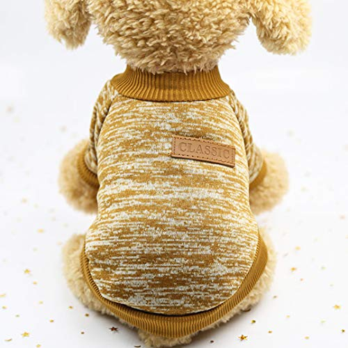 Katze Pullover, warme Hunde Pullover Katze Kleidung, Fleece Haustier Mantel für Welpen ()