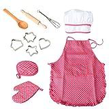 Eigenschaften: - Ein tolles Geschenk für Kinder, die es lieben, in der Küche vorzutäuschen. - Lassen Sie Ihrer Fantasie freien Lauf im Spiel mit dem Koch. - Spaß mit Ihren Kindern zu haben und für immer bleibende Erinnerungen zu schaffen. Spezifikati...