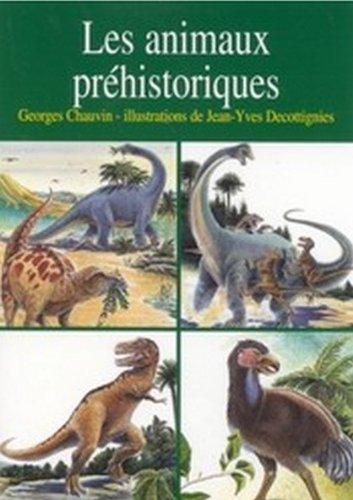 les-animaux-prhistoriques