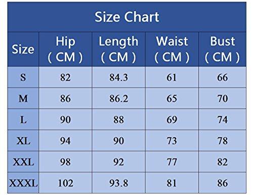 BYD da Donna Corsetto Modellante Cincher Slim Body Sport Shaper Bustino Shapewear Corsetti Nero