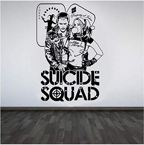 Pegatinas de pared y murales, Cotizaciones Suicide Squad Tatuajes de pared...