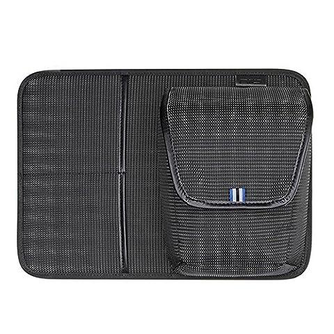 NIID-UNO I Water Repellent Slim Ordinateur Portable Sac à dos Interchangeable avec Port de charge USB Rucksack Compatible avec un ordinateur de 15.6 Pouces (Caméra Panneau)