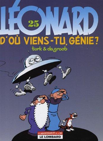 Léonard, Tome 25 : D'où viens-tu, génie ?