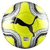 Puma Final 1 Statement (FIFA Quality Pro) Balón de Fútbol, Amarillo (Lemon Tonic/Silver Black), 5
