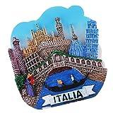 Baoblaze Imanes de Nevera Coleccionable para Hogar Recuerdos de Atracción Turística - Venecia