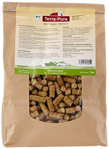 Terra Pura Vegetarisches Bio Hundefutter 1 kg, 1er Pack (1 x 1 kg)