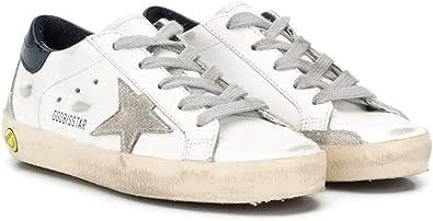 Golden Goose Luxury Fashion Ragazzo GJF00102F00041410303 Bianco Pelle Sneakers | Ss21