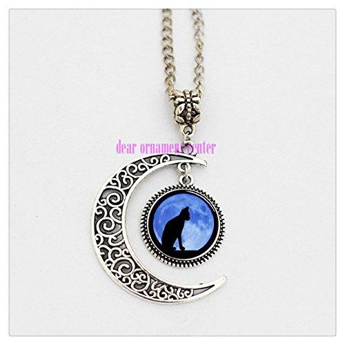 charm-crescent-moon-schwarz-katze-mit-mond-hintergrund-anhanger-foto-halskette-versilbert