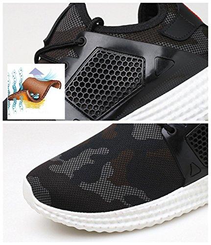 Juleya Uomo Scarpe Running Sportive Scarpe Mesh Corsa Sneakers Fitness Interior Casual all'Aperto 2#