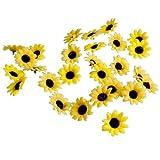DekoWoerner Sonnenblumen-Streubl.24St /E