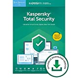Kaspersky Total Security 2019 Standard | 3 Geräte | 1 Jahr | Windows/Mac/Android | Online-Code | Download