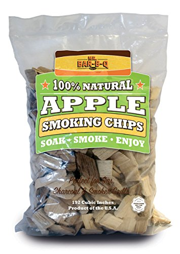 Mr. Bar-B-Q 05012 X Apple Holz Chips - Braun (Mr Grill-tools)